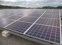 京セラ太陽光発電野立て設置